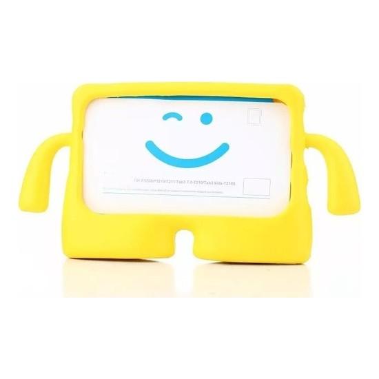 Fibaks Samsung Galaxy S6 Lite SM-P610 P615 P617 Kılıf Çocuk Için Yumuşak Dokulu Standlı Tablet Kılıfı