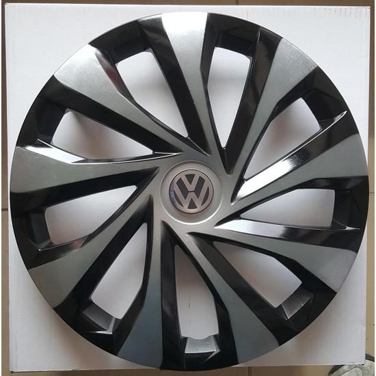 Avsaroto Volkswagen Polo 15'' Inç Çelik Jant Görünümlü Renkli 4lü Set Jant Kapağı