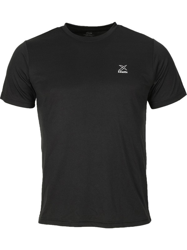 Kinetix SN225 Pes C Neck T- Siyah Erkek Kısa Kol T-Shirt