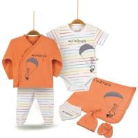 Biorganic Moonstruck Erkek Bebek Yenidoğan Hastane Çıkışı 7li Set