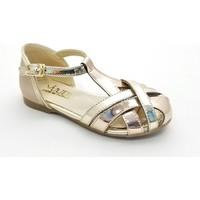 Vuudy Kız Çocuk Abiye Ayakkabı (26-30 Numara Aralığı) V.05P 30 - Bronz