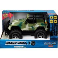 1:16 Sesli ve Işıklı Jeep – Yeşil