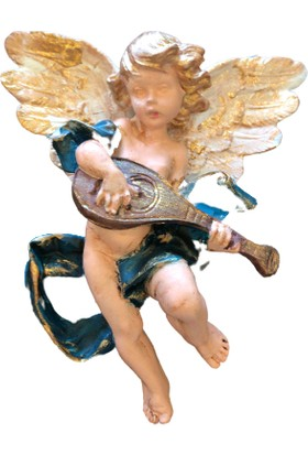 Lumier Çocuk Melek Figür Dekoratif Obje ( Boyanabilir - Dekor - Süs )