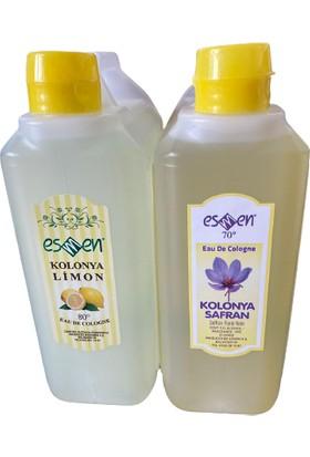 Esmen Limon ve Safran Kolonyası 1000 ml