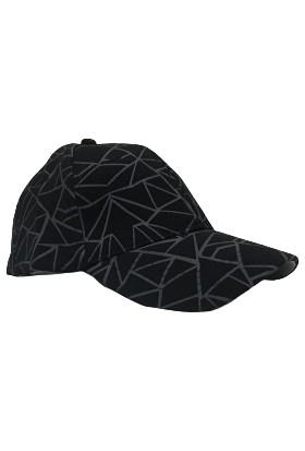 Cap Ny Hip Hop Model Cap Şapka Erkek Siyah- Beyzbol Basketbol Polo Spor