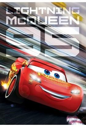 Disney Cars (Arabalar Şimşek Mcqueen) Kutulu Puzzle/yapboz 50 Parça