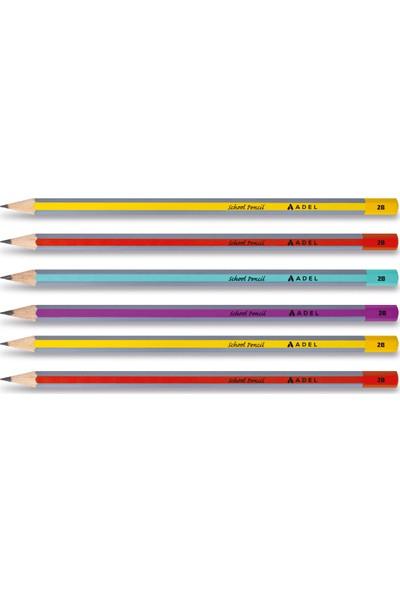 Adel Okul Kalemi 2b Kurşun Kalem 6'lı