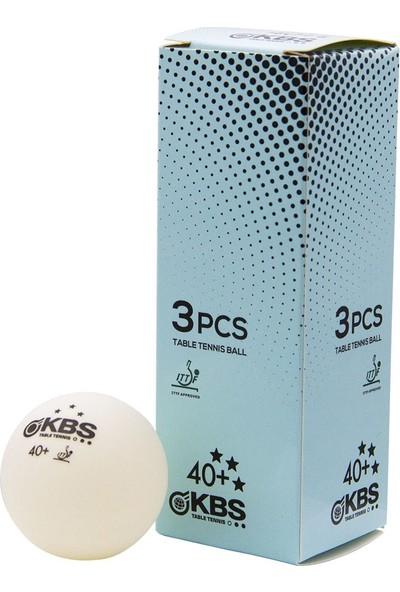 Kbs Ittf Onaylı 3 Lü Masa Tenisi Maç Topu