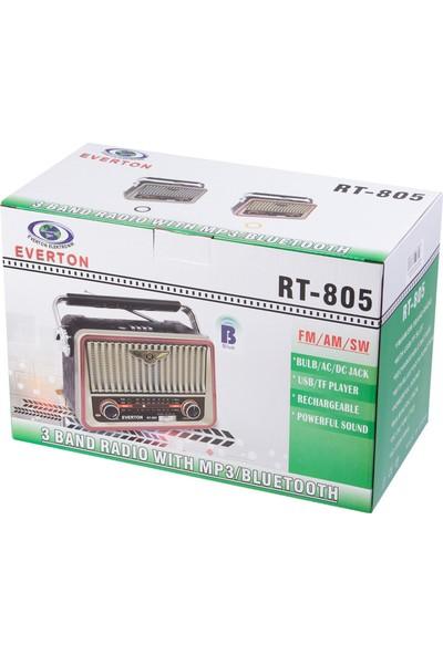 Everton RT-805 Mp3 Çalar Eskitme Model Nostalji Radyo