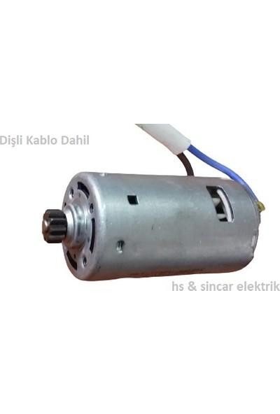 Suwara Zeytin Hasat Makinası 12 V Dc 12018K Yüksek Devir Dişli Dahil Kablo Dahil