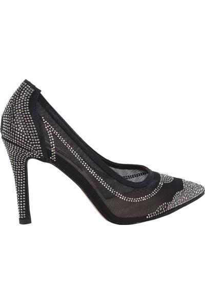 Venüs Siyah Kadın Stiletto Ayakkabı 2172248