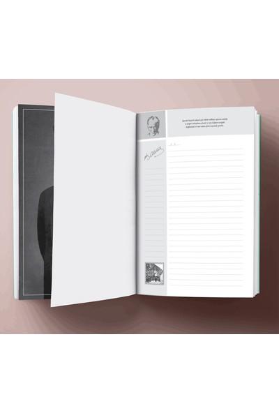 Halk Kitabevi Atatürk Portre Tarihsiz Planlama Defteri 13,5 x 19,5 cm