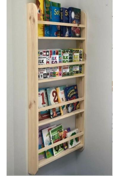 Beğenseç Montessori Kitaplık Çocuk Odası Eğitici Kitaplık