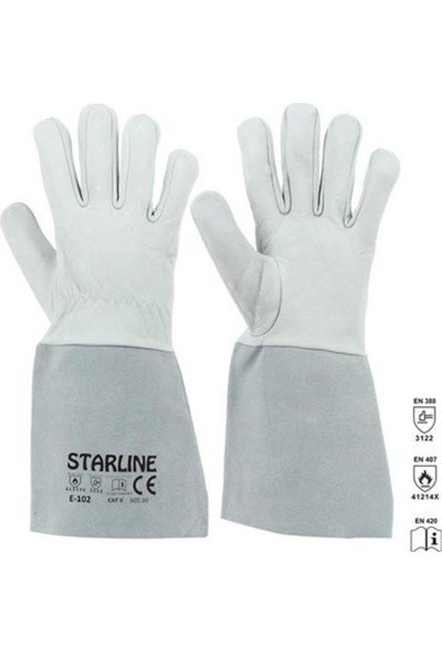 Starline Maxstar Otomatik Kararan Kaynak Maskesi ve Argon Kaynak Eldiveni