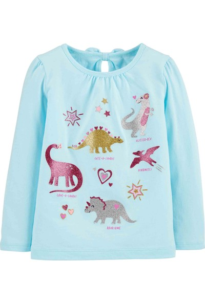 Carter's Carters Küçük Kız Çocuk Tshirt - Pw 2I562110