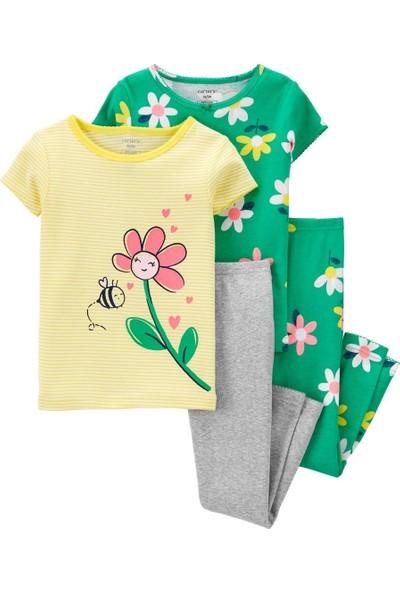 Carter's Carters Kız Bebek 4'lü Pijama 1K553310