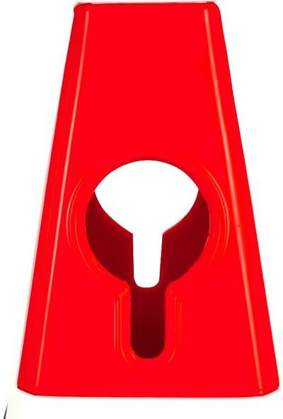 İleri Trafik Ultra Kedi Gözlü Trafik Konisi Ağırlıklı 60 cm Trafik Dubası