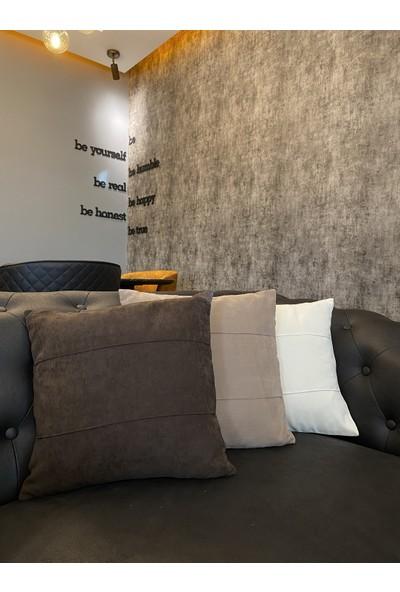 Erc Home Özel Tasarım Kırlent Kılıfı 3'lü Takım