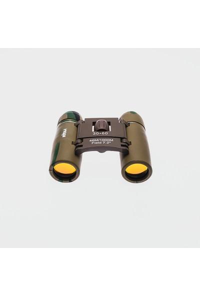 Nikula 30X60 Profesyonel Mini El Dübünü - 1000 / 46M - Kamuflaj