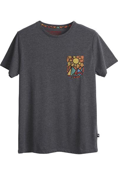 Bad Bear Erkek Koyu Gri Tişört Mıro Tee