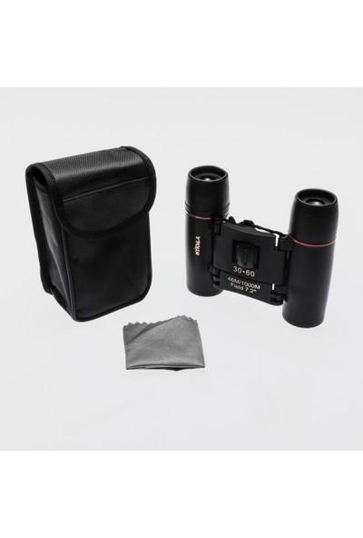 Nikula 30X60 Profesyonel Mini El Dübünü - 1000M/46M - Siyah