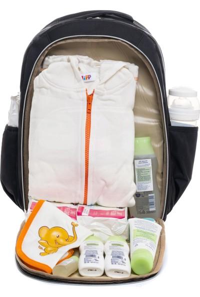 Bebex Bag-X Organizatör Anne Bebek Bakım Sırt Çantası Siyah