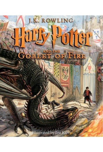 Harry Potter And The Goblet Of Fire: Illustrated Edition Year 4