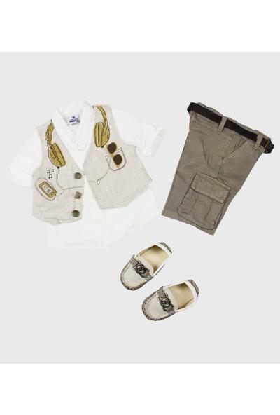 Babyland Pakel Erkek Çocuk Ayakkabılı Takım