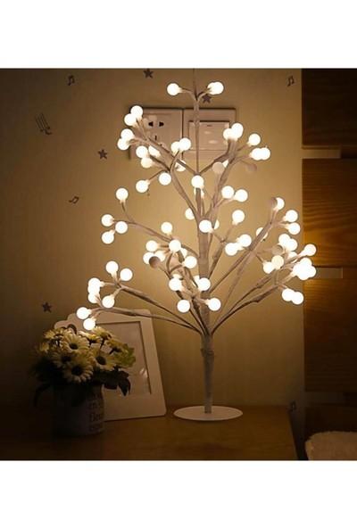 Bbc Boluncuklu Fotoğraflı LED Işıklı Baloncuk Ağacı LED Ağaç Bulut Balon