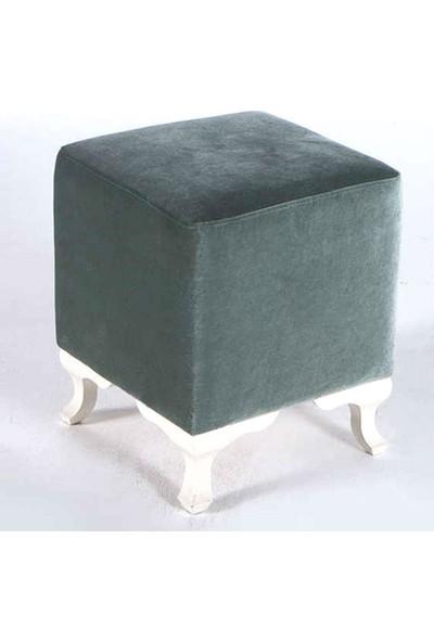 Badem10 Kanepe Mobilya Baza Yatak Koltuk Puf Ayağı Beyaz 4'lü Vida Hediyeli 10 cm