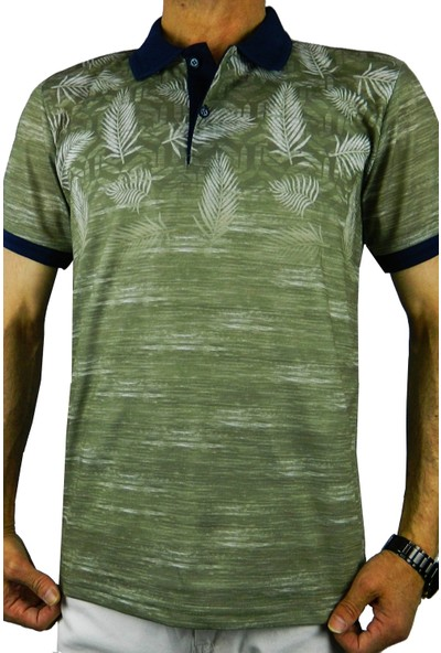 Bigazzi Erkek Baskılı Pike Lyc Tshirt 3227
