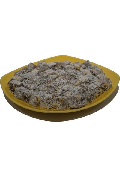 Adafiskos Çifte Kavrulmuş Yer Fıstıklı Lokum Şeker Pancarından Üretilmiştir