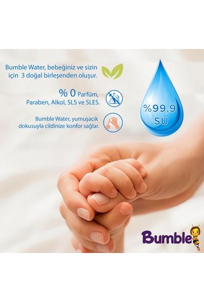 Bumble Water Saf Su Doğal Islak Mendil 8 Paket 480 Yaprak
