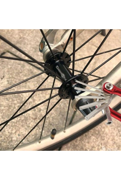 Asn Bisiklet Bakım Bisiklet Tamir Alet Takımı, Anahtar, Tornavida Zincir, 17 Fonsiyonlu
