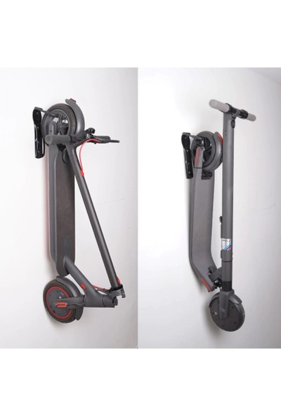 Asn Elektrikli Scooter Katlanabilir Yol Dağ Bisiklet Duvar Askı Aparatı
