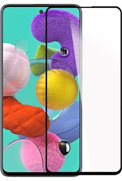 CaseArt Samsung Galaxy A51 Tam Kaplayan Temperli Ekran Koruyucu Cam