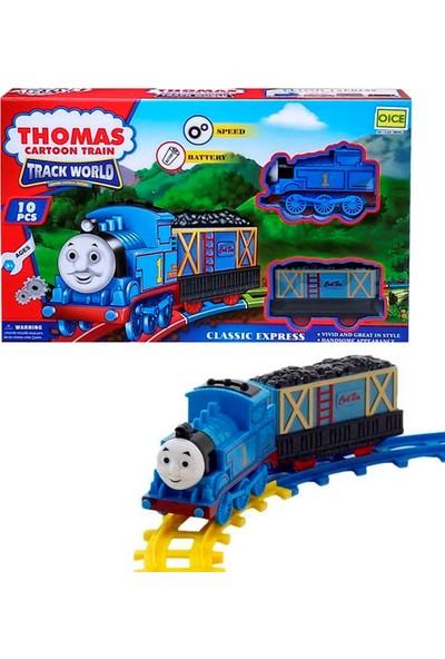 Ysn Toys 10 Parça Thomas Pilli Tren Seti