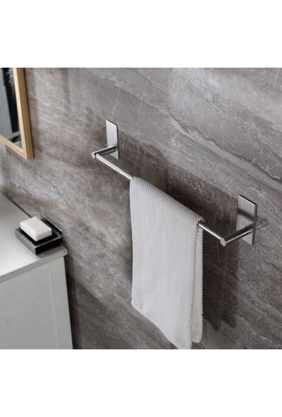 ZiftUnique Paslanmaz Çelik Havlu Askılığı / Havluluk - Yapışkanlı Sistem