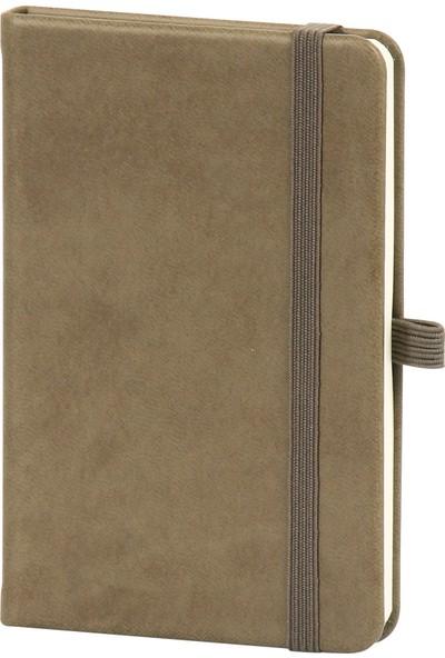 Yaşam Medya Tarihsiz Mini Çizgili Ajanda 9.5 x 14 cm Kahverengi
