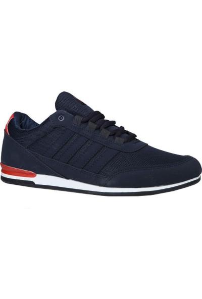 Liger 3018 Lacivert Beyaz Erkek Sneakers
