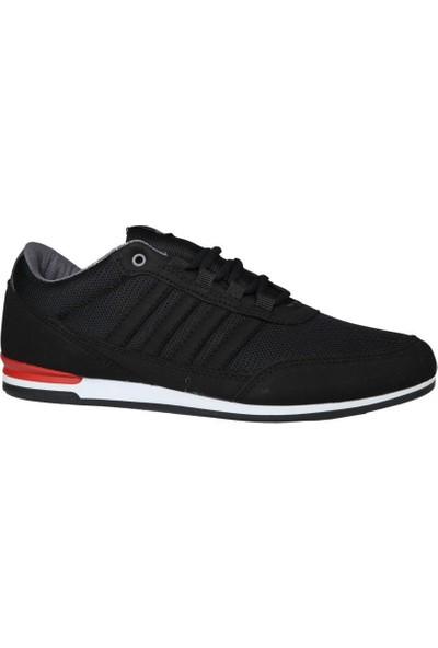 Liger 3018 Siyah-Beyaz Erkek Sneakers