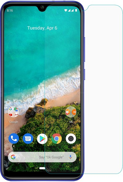 Volente Xiaomi Redmi 9A Nano Esnek Cam Ekran Koruyucu