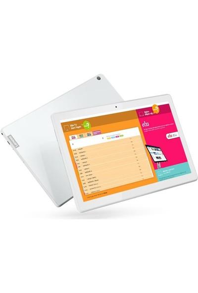 "Lenovo M10 TB-X505F 32GB 10.1"" Tablet Beyaz ZA4G0088TR"