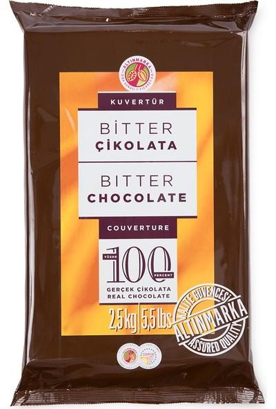 Altınmarka Kahve Dünyası Sütlü Bitter Kuvertür Çikolata Çeşitleri 2,5 kg x 2 Paket