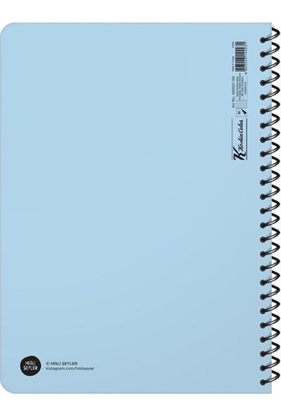 Hisli Şeyler Üstüme Gelmeyin Ben Zaten Dolmuşum Çizgili Defter 16.5 x 22.5 cm