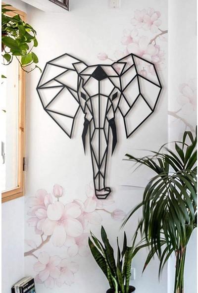 Ya Motta Ya Mottana Elephant 75X90CM Metal Duvar Aksesuarı
