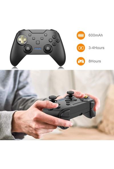 Momen Nintendo Switch Pro Controller Kablosuz Gamepad Oyun Kol