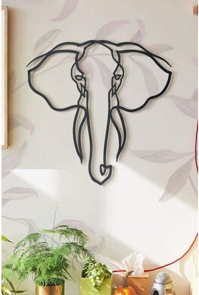 Ya Motta Ya Mottana Elephant 106X123CM Metal Duvar Aksesuarı