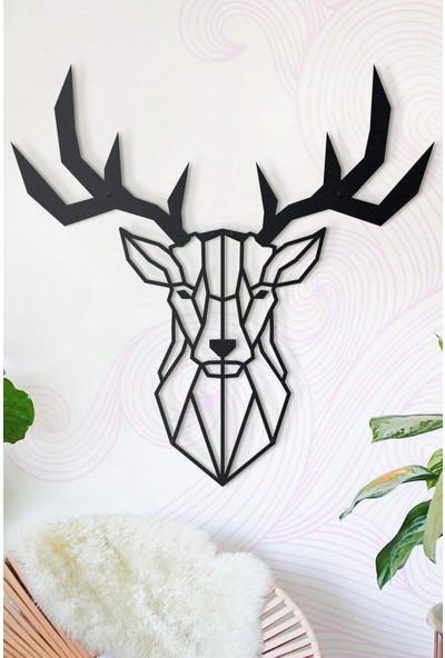 Ya Motta Ya Mottana Deer 112X112 cm Metal Duvar Aksesuarı