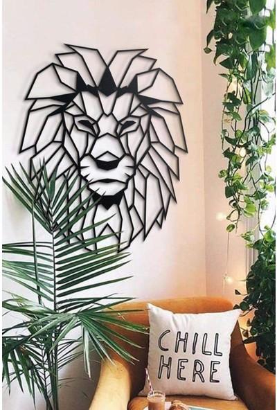 Ya Motta Ya Mottana Lion 98X122 cm Metal Duvar Aksesuarı
